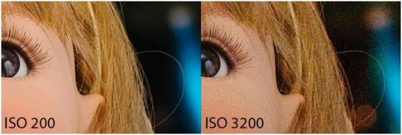 Сравнение ISO 200 и ISO 3200