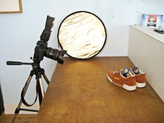Первые шаги по направлению к фотографии коммерческой продукции
