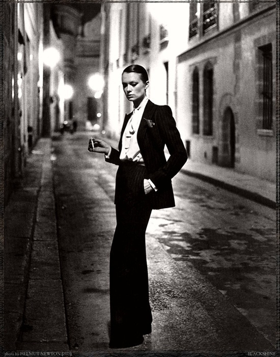 Photo by Helmut Newton